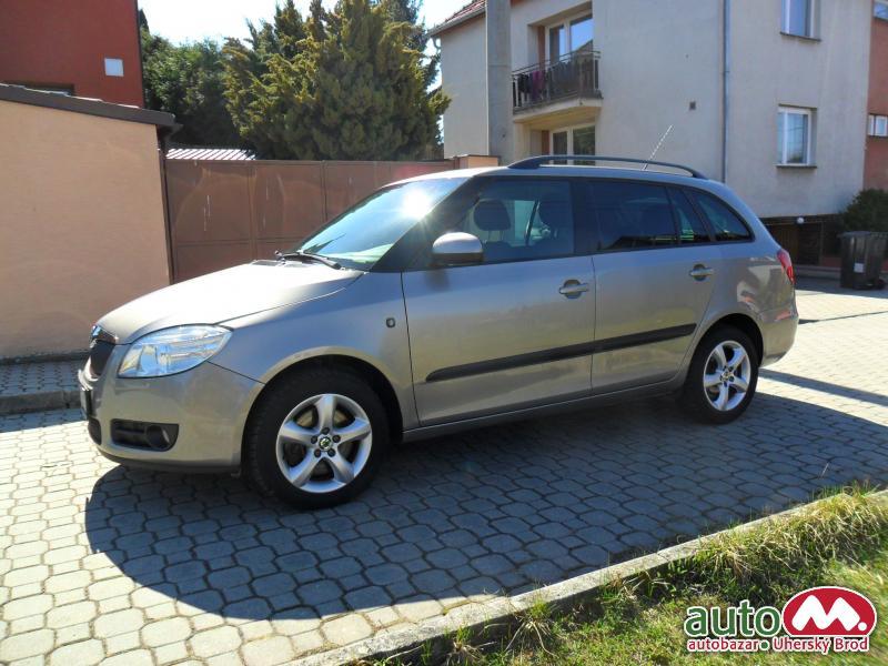 Škoda Fabia Combi II 1,9TDi AUT.KLIMA,ELEGANCE