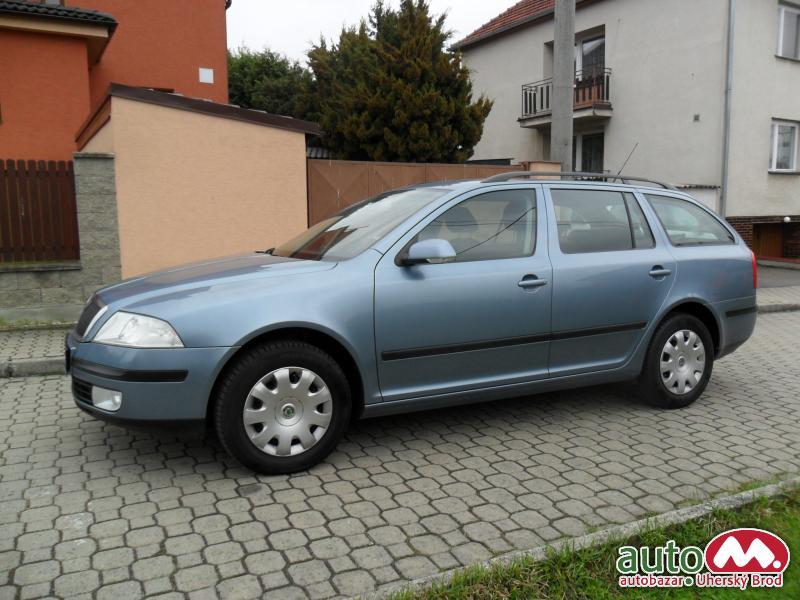 Škoda Octavia Combi 2,0TDi AUT. KLIMA