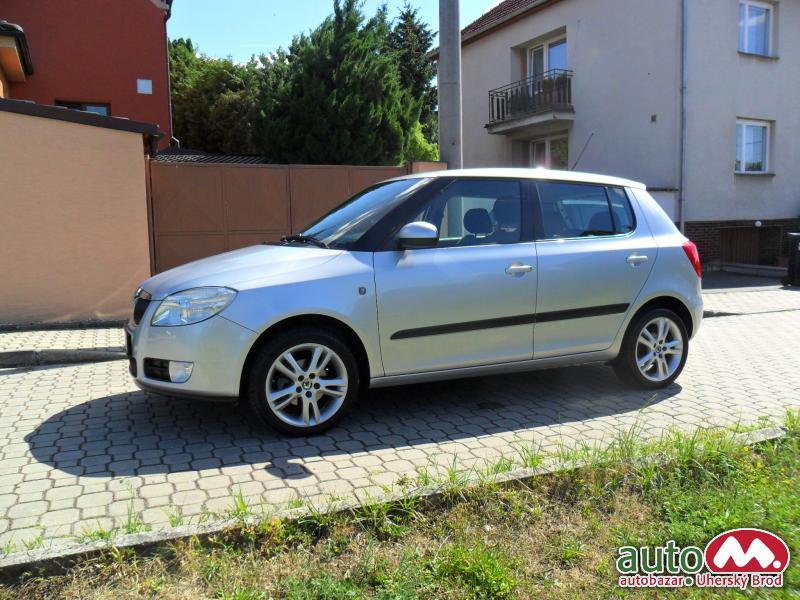 Škoda Fabia II 1,4 16V SPORT, KLIMA