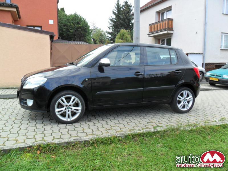 Škoda Fabia II 1.9TDi SPORT,AUT.KLIMA